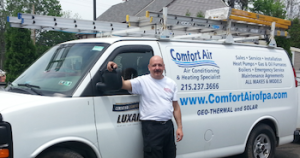 Lansdale HVAC Contractor-Comfort Air-Dave Kinion Owner